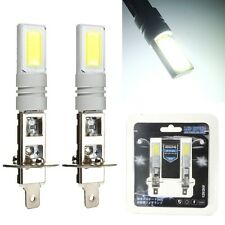 2Pcs White H1 80W LED Car Fog Tail Driving DRL Lamp Light Bulbs 12V 24V DC