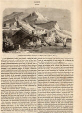 BOUGIE BEJAIA ALGERIE ALGERIA PRESS ARTICLE 1847 PRINT