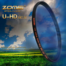 ZOMEI Genuine 67mm PRO NANO 18 Layer Multi-Coated UV Filter For Canon Hoya Lens