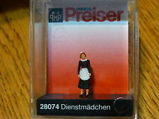 Preiser HO #28074 Individual Figures - Working People -- Maid