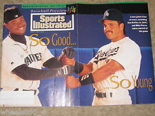 1994 Sports Illustrated Ken Griffey Jr / Mike Piazza  Subscription Issue NR/Mint