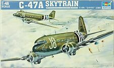 BRAND NEW Trumpeter 02828 1/48 C47A Skytrain Aircraft Model - FAST SHIPPING!