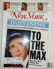 New York Magazine Tabloid War & Kevin Costner March 1991 011615R
