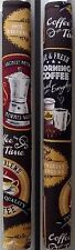 Refrigerator Oven Door Handle Covers Coffee Time Set of Two