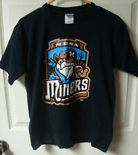 Vintage Golden Baseball League Minor League Mesa Miners Tee Shirt Youth Large