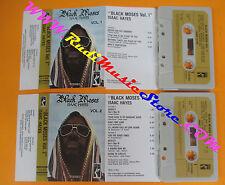 2 MC ISAAC HAYES Black moses vol.1/2 1972 italy STAX 3115 022/3 no cd lp dvd vhs