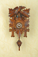 Pendeluhr Pendulum Clock Black Forest Cuckoo MADE in GERMANY 262PQ