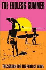 1960s The Endless Summer movie poster replica fridge magnet - new!