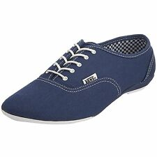 NEW VANS WOMENS 11 SOPHIE STV NAVY SHOES BLUE WHITE CANVAS LADIES saddle oxfords
