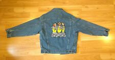 Cartoon Network Jean Jacket M Vintage Flintstones Yogi Jetson Grunge Punk disney