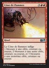 MTG Magic M15 - (4x) Cone of Flame/Cône de flammes, French/VF