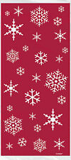 20 SPARKLE TREE Christmas Party Cello Cellophane Sweet Childrens Loot Gift Bags