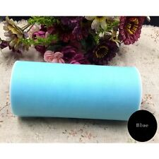 Party Wrap Fabric Bridal Decoration Craft Gift Tulle Roll Spool Wedding
