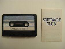 SOFTWARE CLUB SPIELE MC a C64 C128 VC20 C16/ +4 Philips MSX Sinclair ZX Spectrum