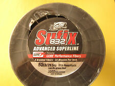 Sufix 832 Braid Lo-Vis Green 65lb - 3500yds