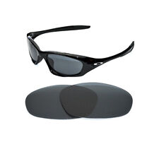 NEW POLARIZED BLACK REPLACEMENT LENS FOR OAKLEY TWENTY SUNGLASSES