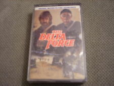 SEALED RARE OOP Delta Force CASSETTE TAPE soundtrack CHUCK NORRIS Alan Silvestri