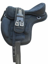 """All Purpose Synthetic Treeless Black 18"""" size Freemax Saddles 40% Discount"""