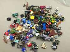 HUGE Lot of 1/2 pound of Non Lego Mega Blok Minifigs minifigures minifig J212