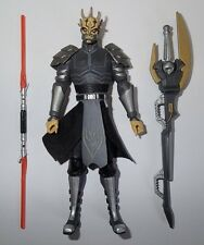 Star Wars CW59 Clone Sith Armored Savage Opress Loose Complete Action Figure