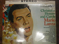 Christmas Hymns and Carols Mario Lanza  33RPM 042816 TLJ