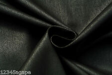 C103 LUXURIOUS HUGO BOSS WATER PROOF DARK GRAY SUPER FINE LAMINATED COTTON