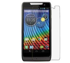10 X Clear Ultra Thin Screen Protector For Motorola RAZR D3