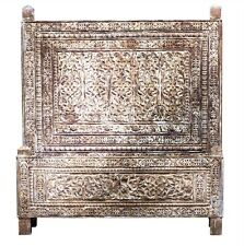 "Carved Bed King 78"" x 84"" x 74""  264105-dni"