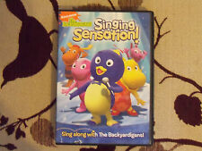 Nickelodeon The Backyardigans Singing Sensation (DVD,2009) EUC