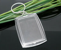 Wholesale HOT! Jewelry Key Chains&Key Rings W/Transparent Picture Frames