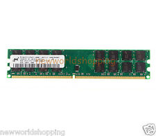 Micron 4GB PC2-6400 2RX8 DDR2-800MHz 240pin Desktop Memory For AMD Motherboard