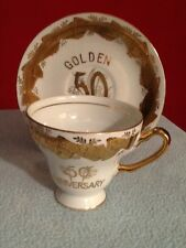 Kelvin Fine China 50th Anniversary Cup and Saucer Japan