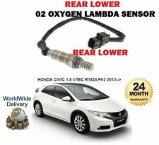 FOR HONDA CIVIC 1.8 VTEC 2012-- NEW REAR LOWER POST CAT 02 OXYGEN LAMBDA SENSOR