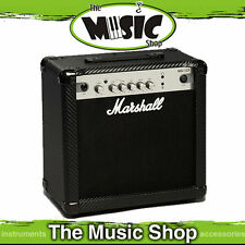 "New Marshall MG15CF 15w Guitar Amplifier Combo - 1 x 8"" Speaker - Practice Amp"
