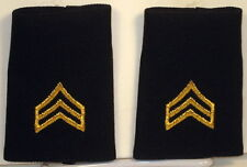 US Army Sergeant Small Epaulet Soft Shoulder Board Rank for Service Dress Blues