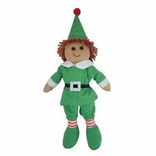 Rag Doll - Christmas Elf - Handmade - Medium 19cms - Powell Craft