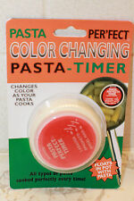 pasta perfect color changing timer lasagna spaghetti angel hair