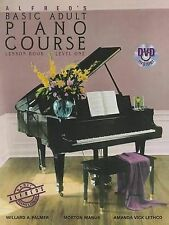 Alfred's Basic Adult Piano Course Lesson Book, Level One by Amanda Vick...