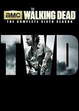 The Walking Dead: The Complete Season 6 Sixth (DVD, 2016, 5 Disc Set) NEW!!!
