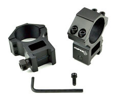 SNIPER 30mm Scope Ring  Two Piece Picatinny Base Aluminum High Profile