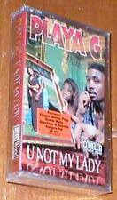 U Not My Lady ~ Playa G - East Wood Recordings - New Music Cassette Album