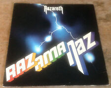 NAZARETH razamanaz 1975 UK MOUNTAIN STEREO VINYL RE LP