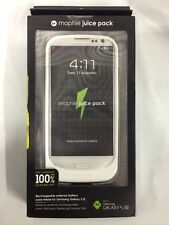 Mophie 2,300mAh Battery Juice Pack for Samsung Galaxy S3 SIII - White