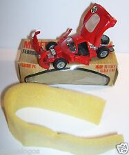 OLD MEBETOYS FERRARI P4 ROUGE 1/43 REF A27 MADE IN INTALY 1968 IN ORIGINAL BOX