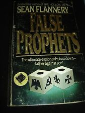 False Prophets By Sean Flannery Chater Original Dec 1983 Paperback