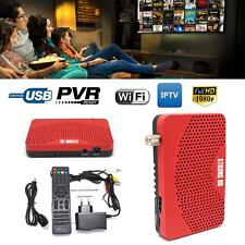 HD DVB S2 Mini Digital Satellite IPTV Combo Receiver Decoder Set Top Box PVR FT