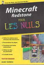 MINECRAFT REDSTONE POUR LES NULS livre JEU