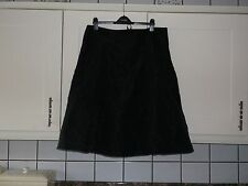 NEW SIZE 20 LADIES BLACK LINED CRINKLE SKIRT IDEAL FOR PARTY OR GOING OUT