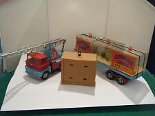 "CORGI No: 21 ""Chipperfield's Scammell Truck & Trailer menagerie Regalo Set"" (RARA)"