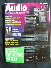 AUDIO 11/89.BOSTON A 120,CASTLE PEMBOKE 2.MISSION CYRUS 782,HECO SUPERIOR 740